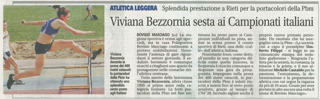 giornale di Desio 18Giu13 - Bezzornia