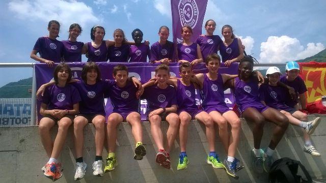 squadra ragazzi-e CAMP REGIONALE PISTA 2015