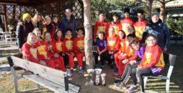 15 GENNAIO 2017 – CAMPIONATO REGIONALE DI SOCIETA' RAGAZZI/E + CADETTI/E CORSA CAMPESTRE –  SAMOLACO (SO)