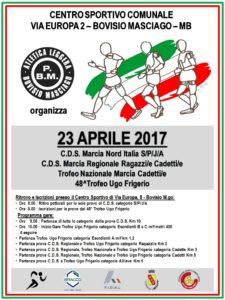 MANIFESTAZIONE 23 APRILE 2017