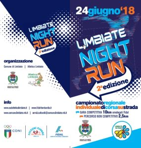 Limbiate Night Run 2018